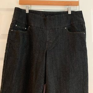 High-rise straight leg jeans, JAG JEANS, size 14